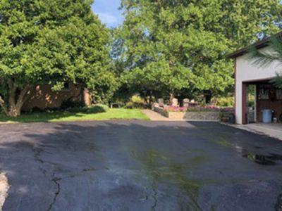 Garage Pavement After