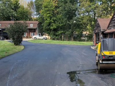 Residential Paved Driveway